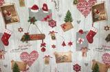 świąteczne tkaniny