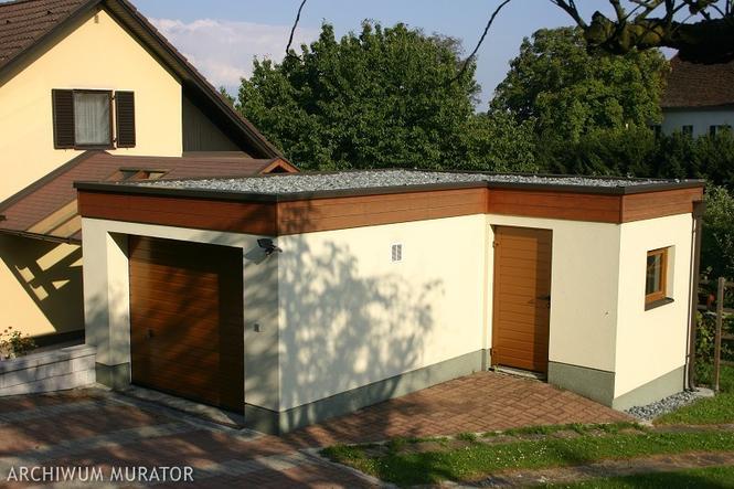 Połączenie garażu z domem
