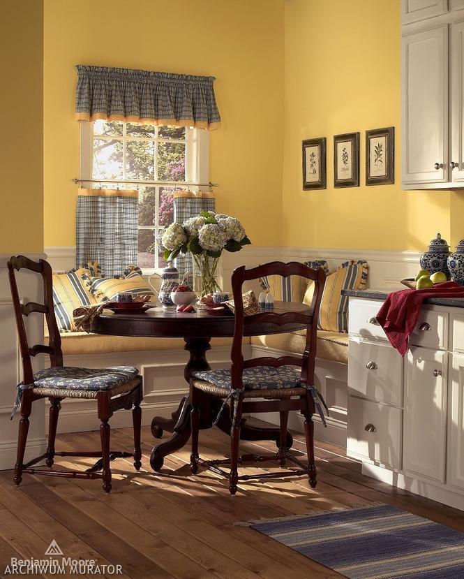 Żółta kuchnia - odsłona tradycyjna