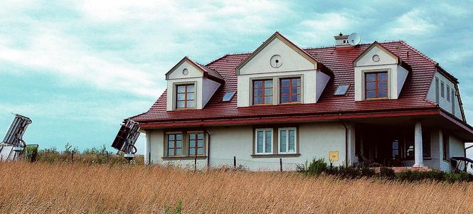 Dom inteligentny - kolektory słoneczne