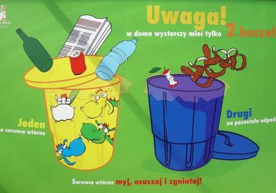 Nowy system gospodarki odpadami w Krakowie. Segregowanie i selektywna zbiórka śmieci – poznaj zasady