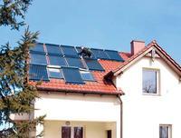 Kolektory słoneczne - do ogrzewania domu