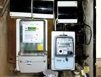 Licznik elektryczny w podzielonym domu