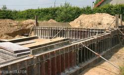 Fundamenty betonowe. Ściany fundamentowe monolityczne