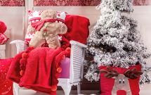 Dodatki świąteczne i tekstylia w klimacie zimowym