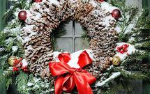 Stroiki bożonarodzeniowe na drzwi