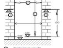 Jaka szczelina pomiędzy prowadnicą drzwi balkonowych, a posadzką na podłogę?