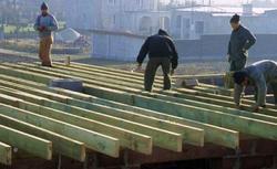 Strop drewniany: rodzaje stropów drewnianych