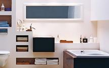 Meble łazienkowe z płyt gipsowo-kartonowych